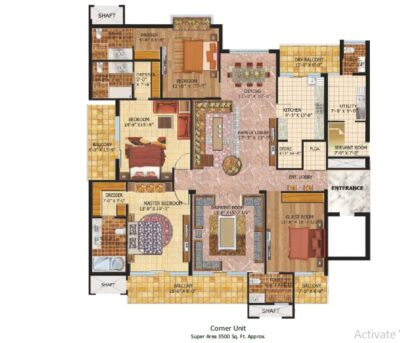 signature_towers_mohali_Floor_plan_corner