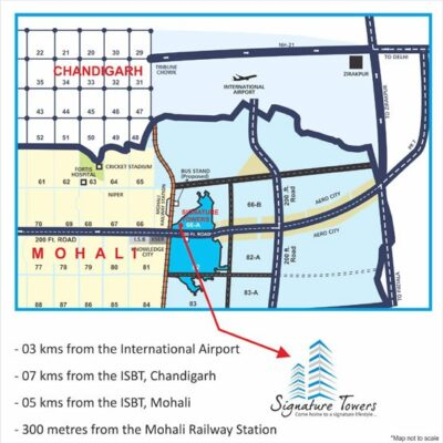 signature_towers_mohali__Location-Map